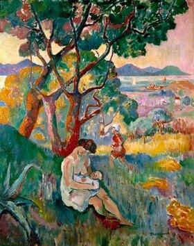 Henri Manguin: Saint-Tropez, Blick auf die Villa Demière