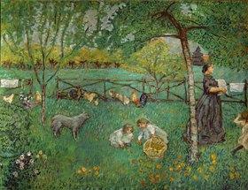 Der große Garten in Clos