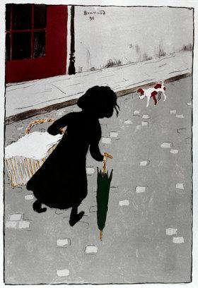Pierre Bonnard: Die kleine Wäscherin