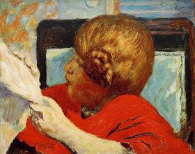 Pierre Bonnard: Lesende