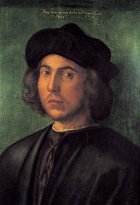 Albrecht Dürer: Bildnis eines jungen Mannes