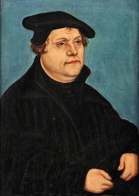 Lucas Cranach d.Ä.: Bildnis Martin Luthers