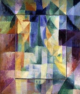 Robert Delaunay: Simultanfenster auf die Stadt (1.Teil, 2.Motiv, 1.Replik)