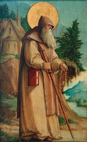 Meister von Messkirch: Der Heilige Paulus Eremita