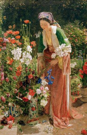 John Frederick Lewis: Im Garten des Beis