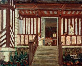 Pierre Bonnard: Misias Haus, die Veranda