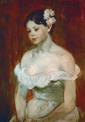 Berthe Morisot: Bildnis einer jungen Frau