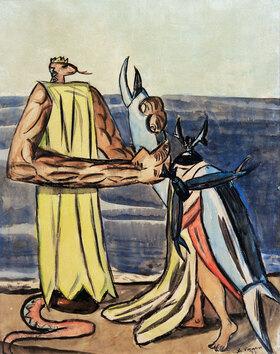 Max Beckmann: Schlangenkönig und Hirschkäferbraut