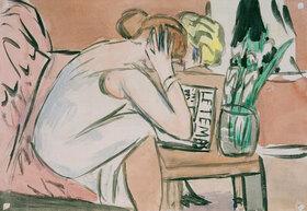 Max Beckmann: Zwei lesende Mädchen