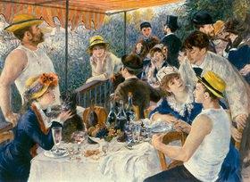 Auguste Renoir: Frühstück der Ruderer