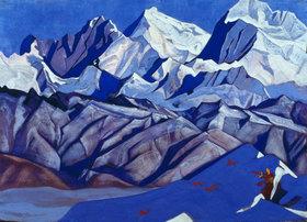 Nikolai Konstantinow Roerich: Rote Pferde