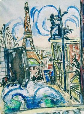 Max Beckmann: Weltausstellung Paris