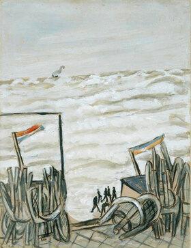 Max Beckmann: Strand bei Flut