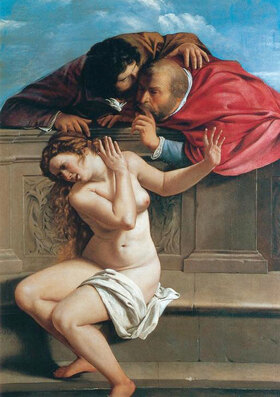 Artemisia Gentileschi: Susanna und die beiden Alten