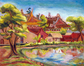 Tan Ting-pho: Ein buddhistischer Tempel, Taiwan