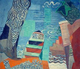 Oskar Moll: Nachen am See
