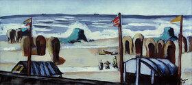 Max Beckmann: Grauer Strand