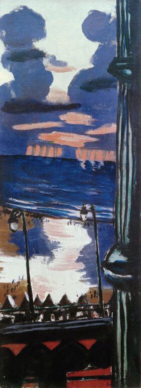 Max Beckmann: Abend auf der Terrasse
