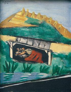 Max Beckmann: Sommer (Liebespaar)