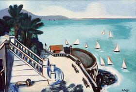 Max Beckmann: Blick von der Terrasse in Monte Carlo