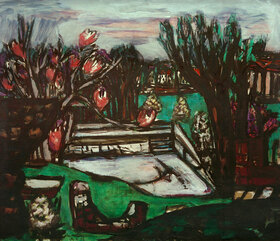 Max Beckmann: Alter Swimmingpool