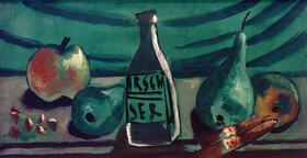 Max Beckmann: Stilleben mit Apfel und Birne