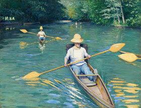Gustave Caillebotte: Skiffs