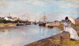 Berthe Morisot: Der Hafen von Lorient