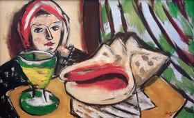 Max Beckmann: Stillleben mit großer Muschel