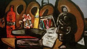 Max Beckmann: Stillleben mit Paletten