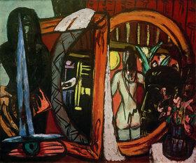 Max Beckmann: Bildhaueratelier
