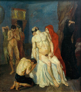 Max Beckmann: Beweinung