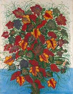 Séraphine Louis: Der große Blumenstrauß