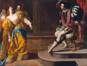 Artemisia Gentileschi: Esther vor Ahasver