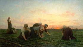 Jules Breton: Die Unkrautjäter