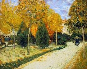 Vincent van Gogh: Der Jardin Public. Arles, Oktober 1888.