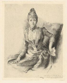 Marie Bracquemond: Portrait of Mlle Quivoron