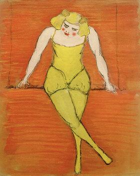 Marianne von Werefkin: Trapezkünstlerin
