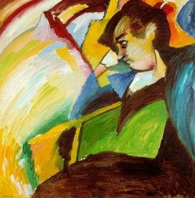 Wassily Kandinsky: Dame