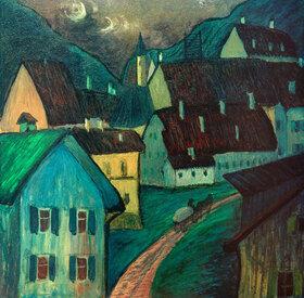 Marianne von Werefkin: Abend in Murnau