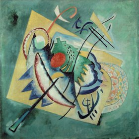 Wassily Kandinsky: Rotes Oval