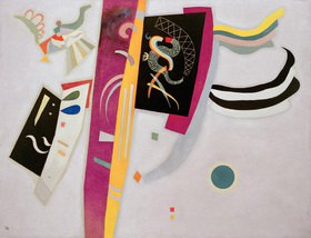Wassily Kandinsky: Violett-Orange