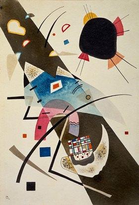 Wassily Kandinsky: Zwei schwarze Flecke