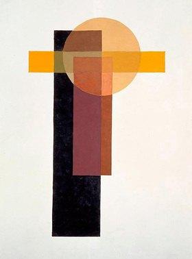 László Moholy-Nagy: Ohne Titel, Anfang der 20er Jahre
