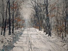 Christian Rohlfs: Waldweg im Winter
