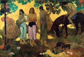 Paul Gauguin: Rupe Rupe (Die Obstpflücker)