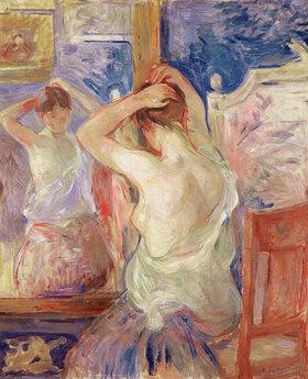 Berthe Morisot: Vor dem Ankleidespiegel