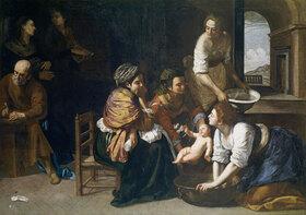 Artemisia Gentileschi: Die Geburt Johannes des Täufers