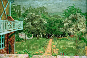 Pierre Bonnard: Blauer Balkon