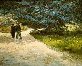 Vincent van Gogh: Im Jardin Publique in Arles